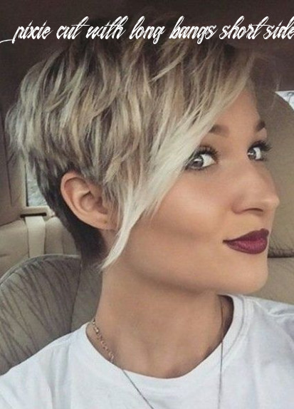 Pin on hair styles pixie cut with long bangs short sides