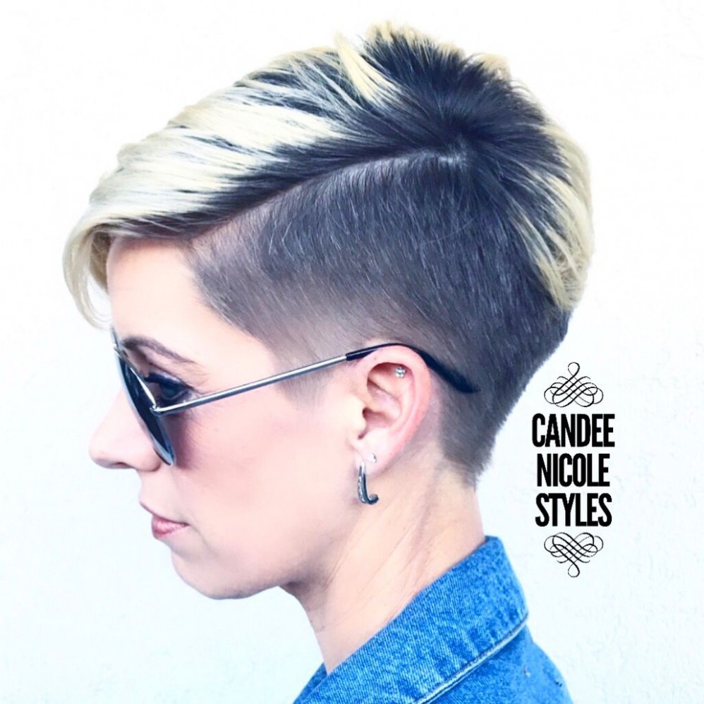 Pin on hair styles shaved pixie haircut