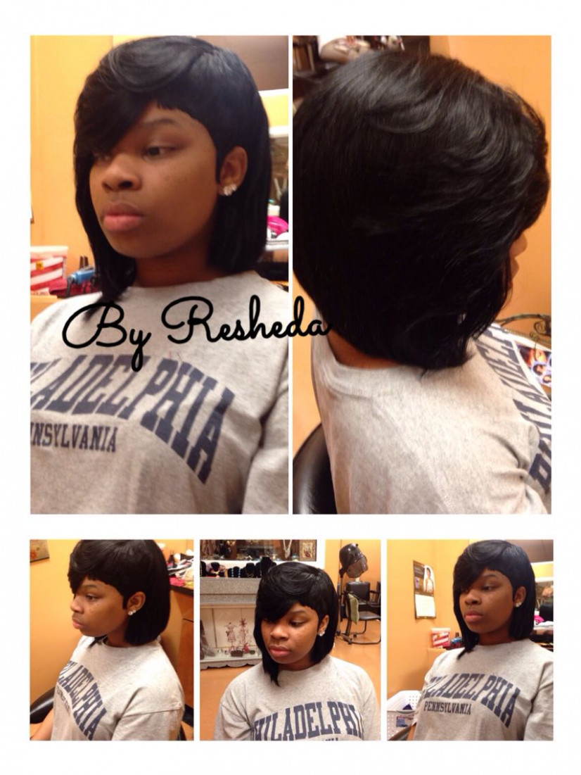 Pin on hair styles shaved sides with weave
