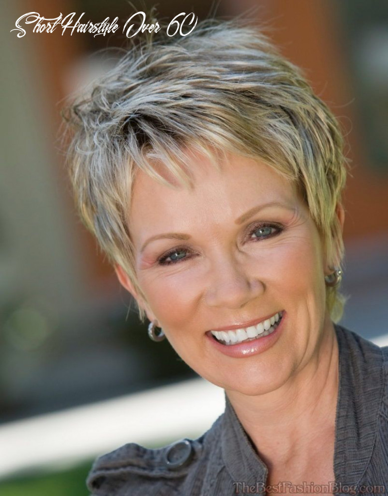 Pin on hair styles short hairstyle over 60
