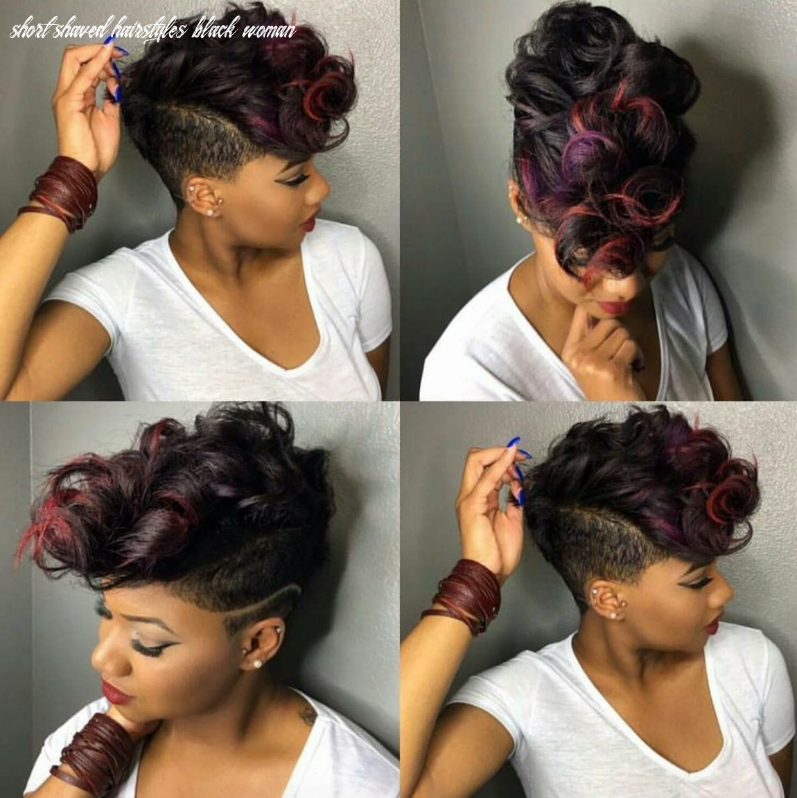 Pin on hair styles short shaved hairstyles black woman