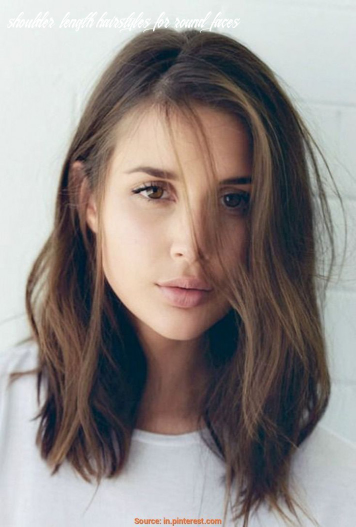 Pin on hair styles shoulder length hairstyles for round faces