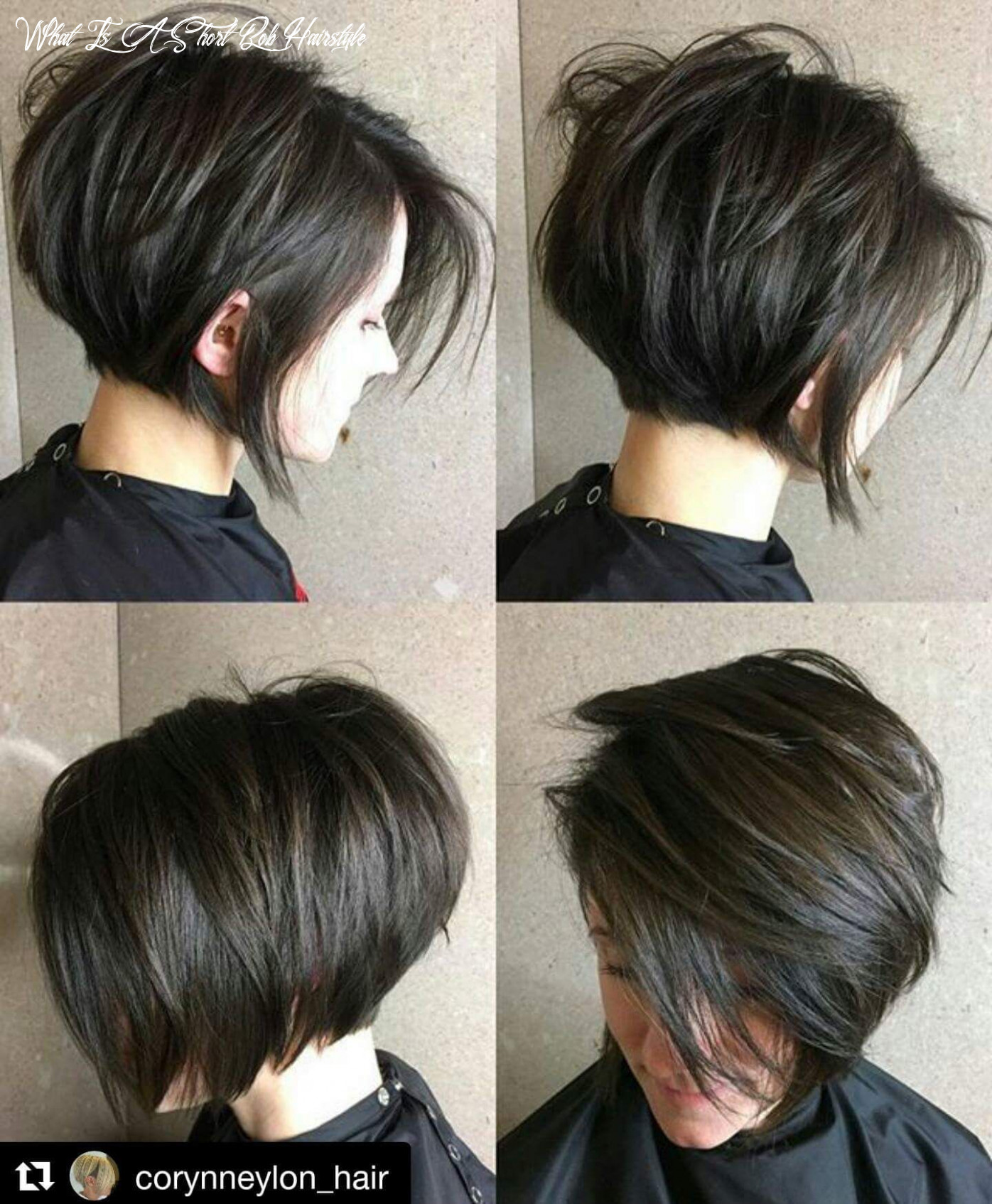 Pin on hair styles what is a short bob hairstyle
