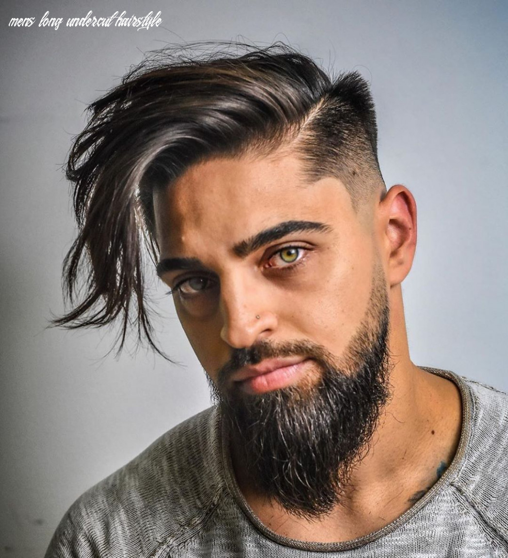 Pin on hair stylish men mens long undercut hairstyle