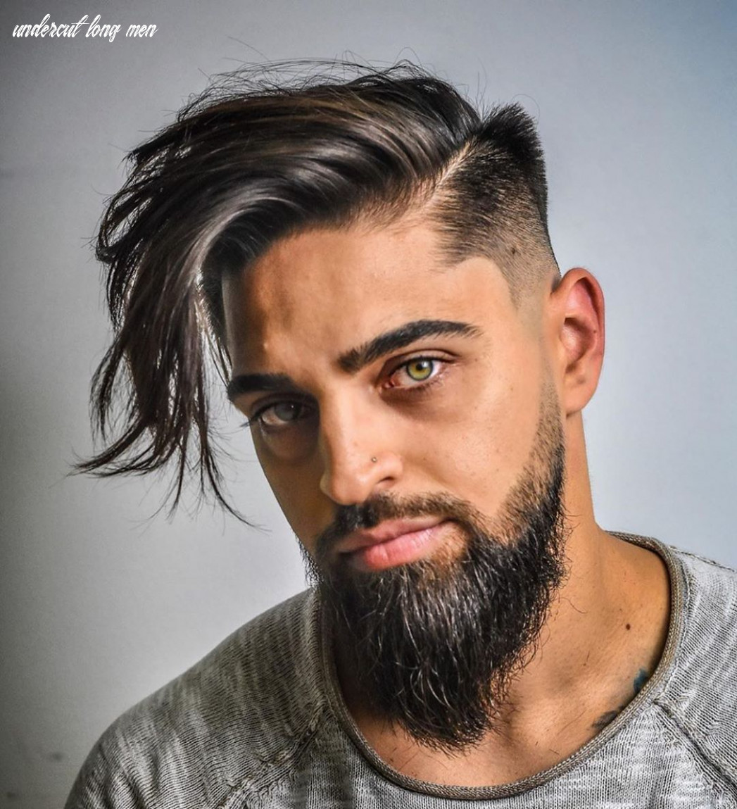 Pin on hair stylish men undercut long men