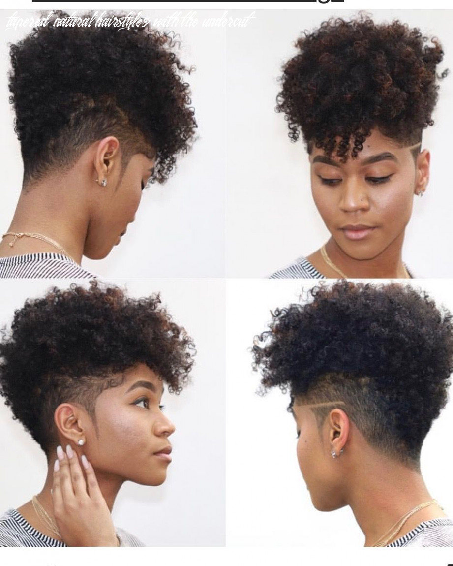 Pin on hair tapered natural hairstyles with the undercut
