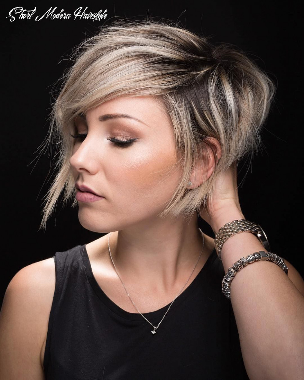 Pin on hair to stay short modern hairstyle