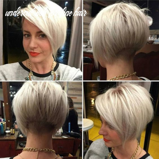 Pin on hair undercut bob for fine hair