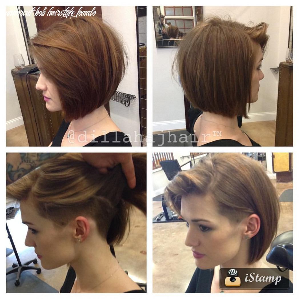Pin on hair undercut bob hairstyle female