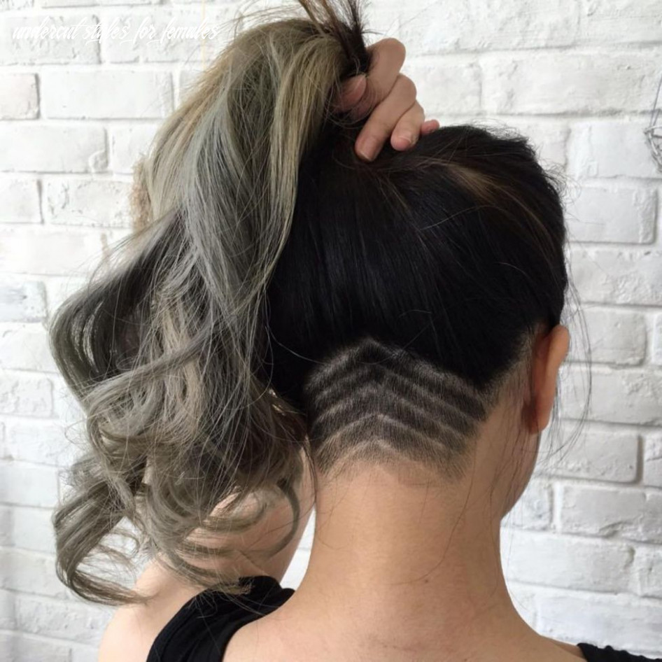 Pin on hair undercut styles for females