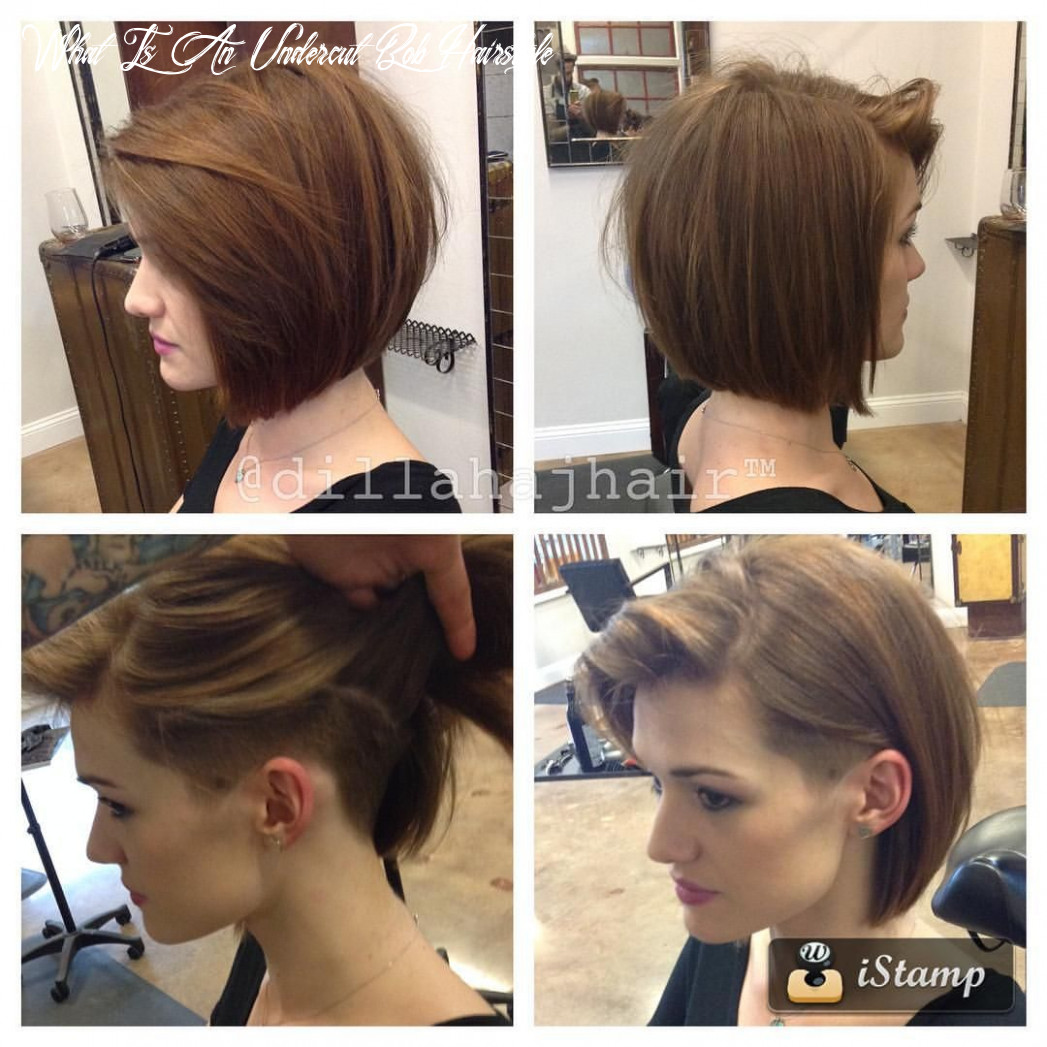 Pin on hair what is an undercut bob hairstyle