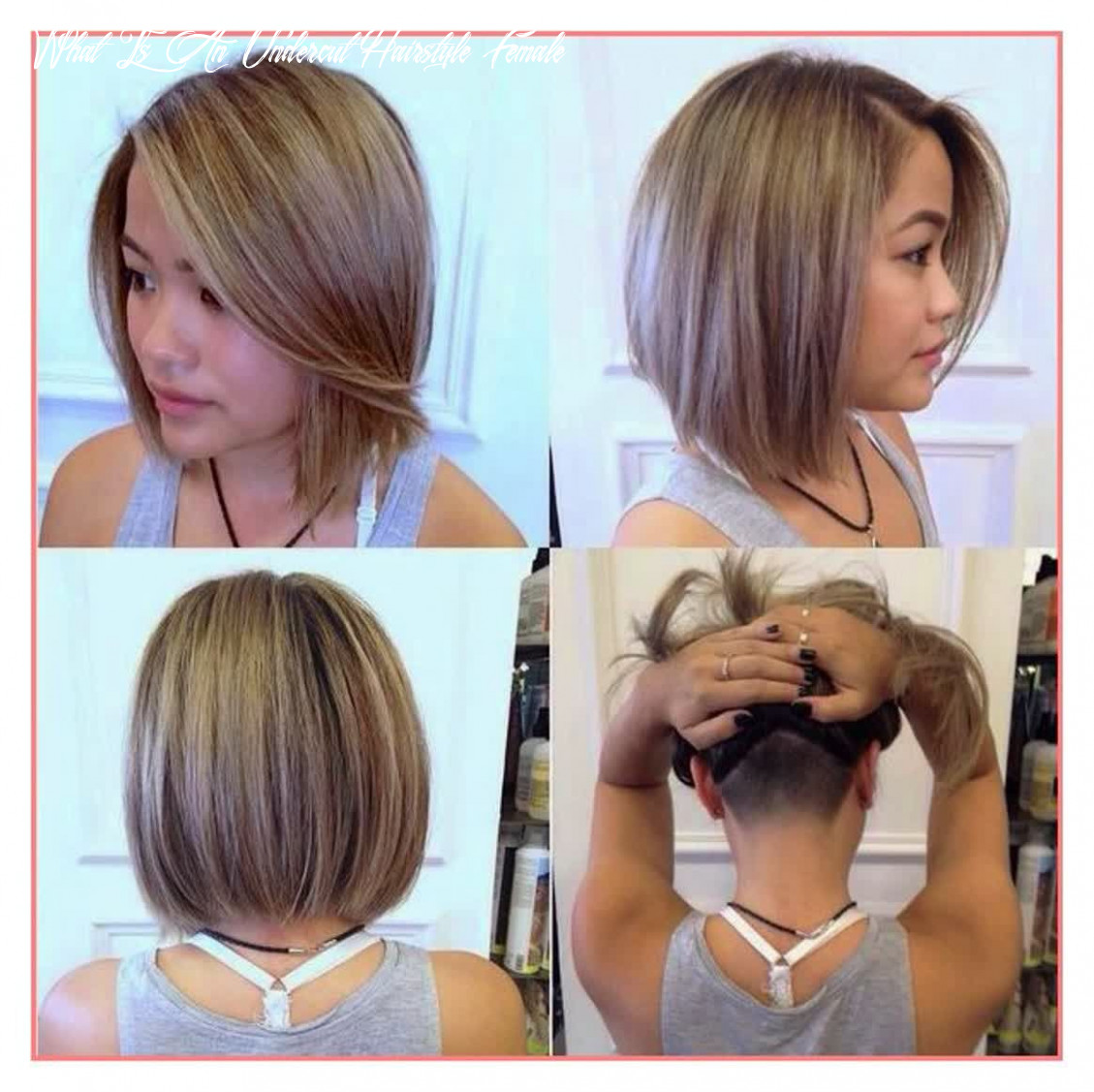 Pin on hair what is an undercut hairstyle female