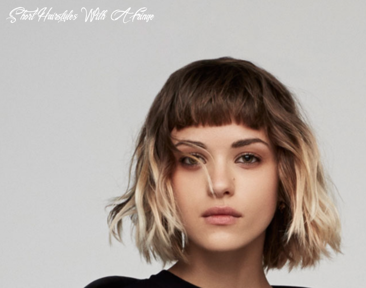 Pin on haircut inspiration short hairstyles with a fringe