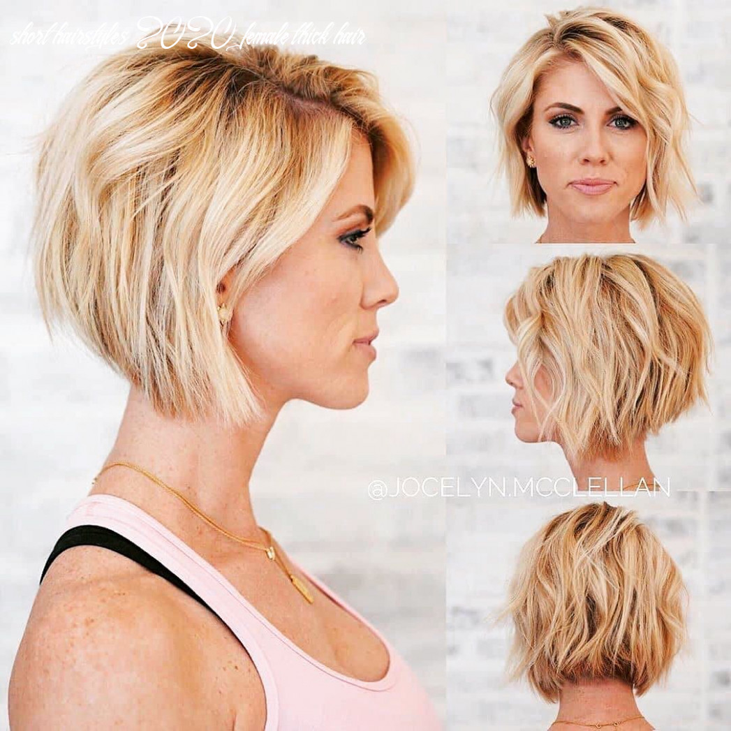 Pin on haircut/style short hairstyles 2020 female thick hair