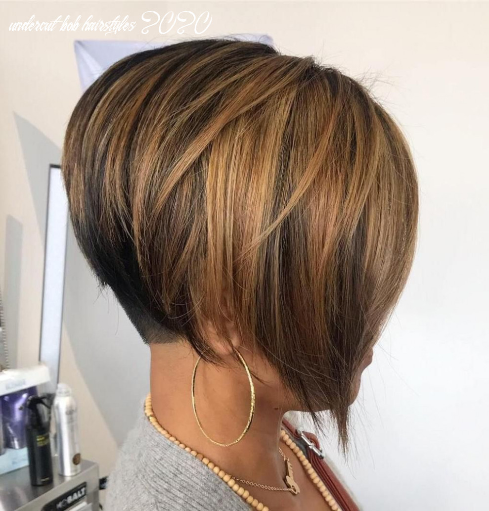 Pin on haircuts 8 undercut bob hairstyles 2020