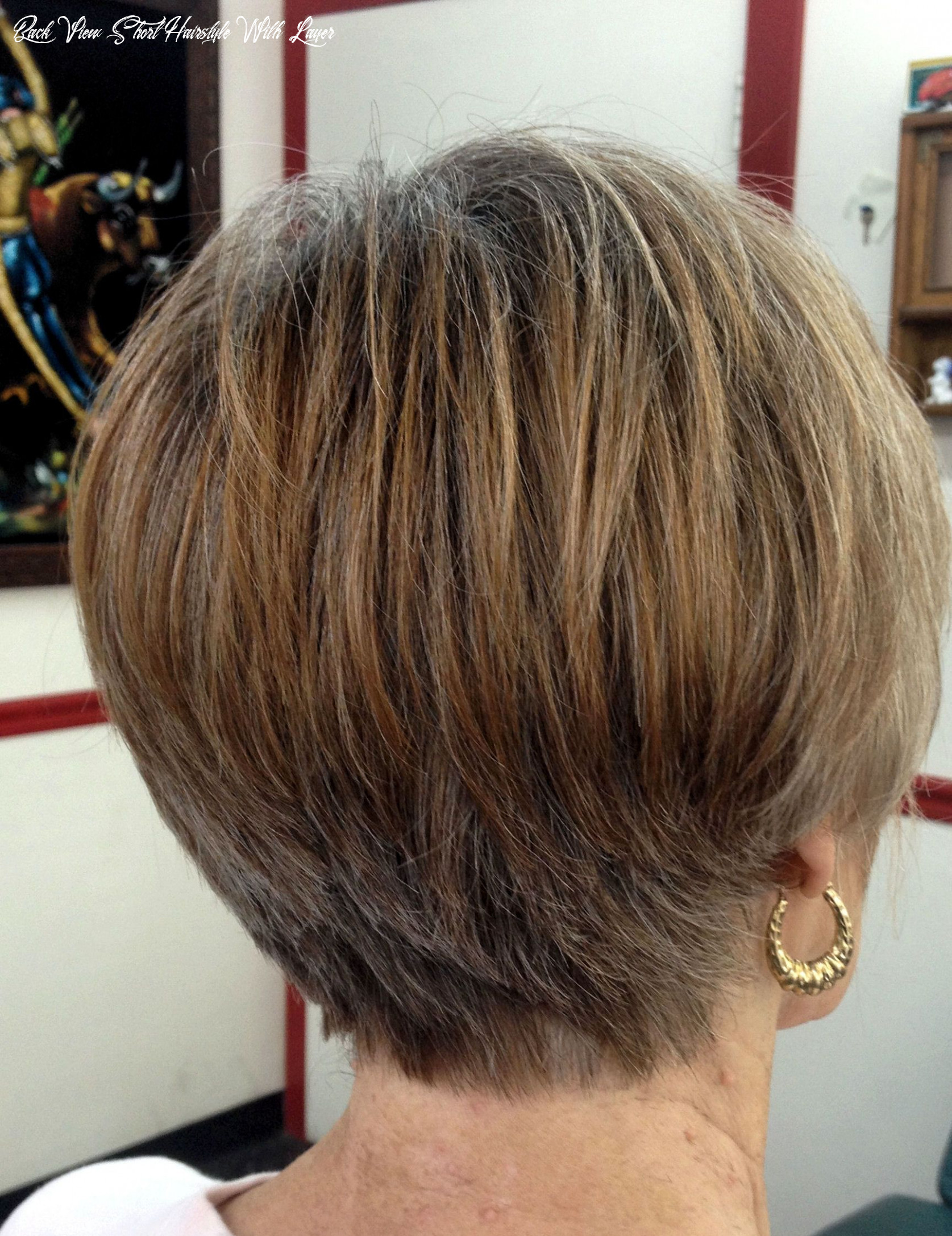 Pin on haircuts for ladies and for men back view short hairstyle with layer