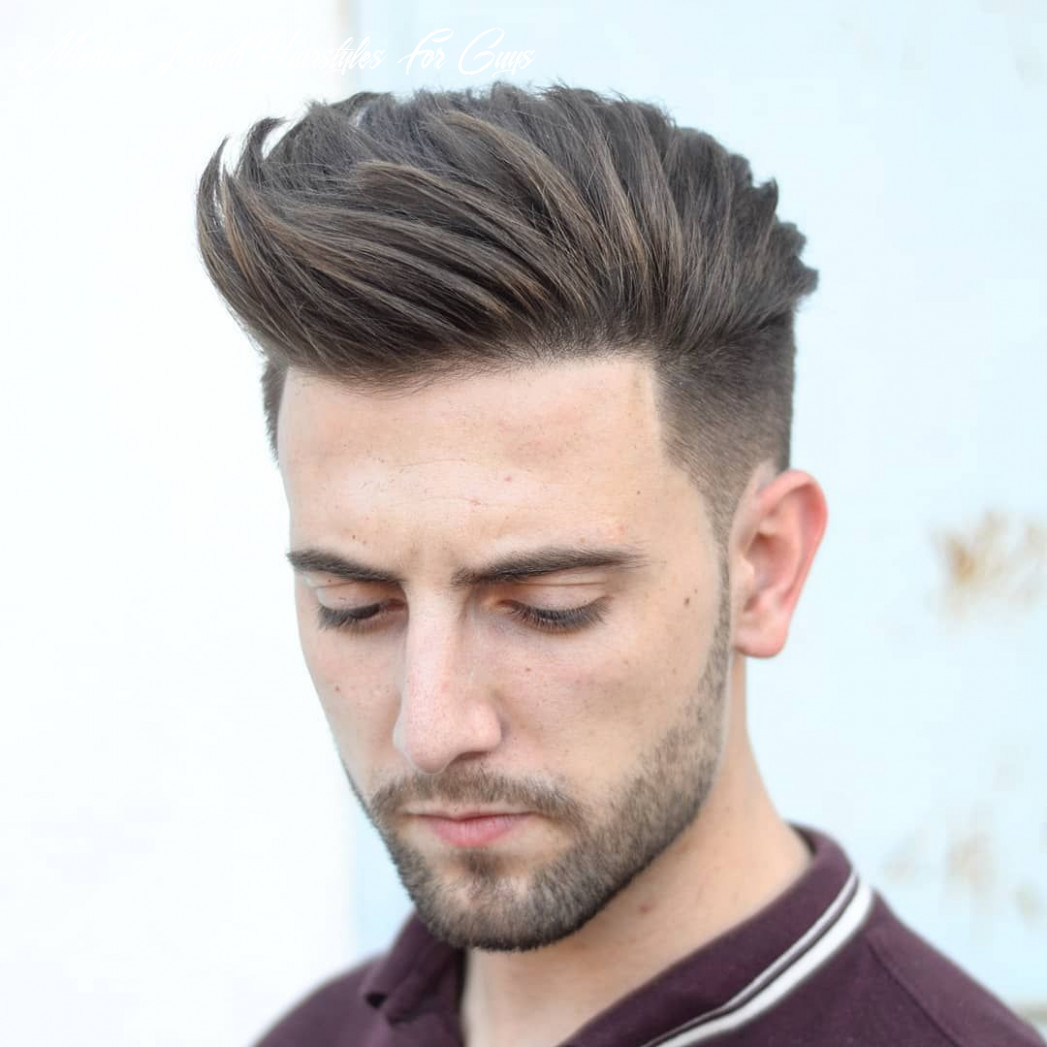 Pin on haircuts medium length hairstyles for guys