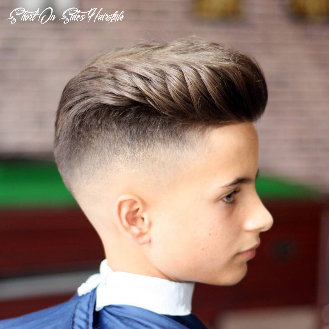 Pin on haircuts short on sides hairstyle