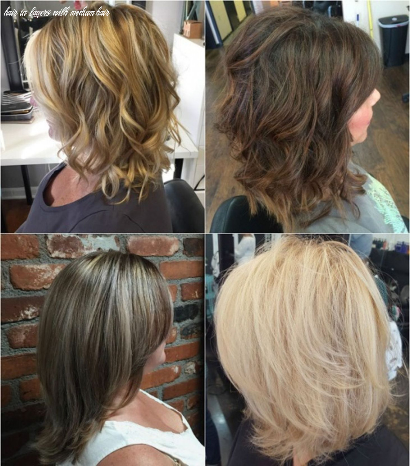 Pin on hairrcuts hair in layers with medium hair