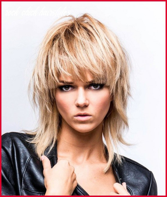 Pin on hairs rock chick hairstyles