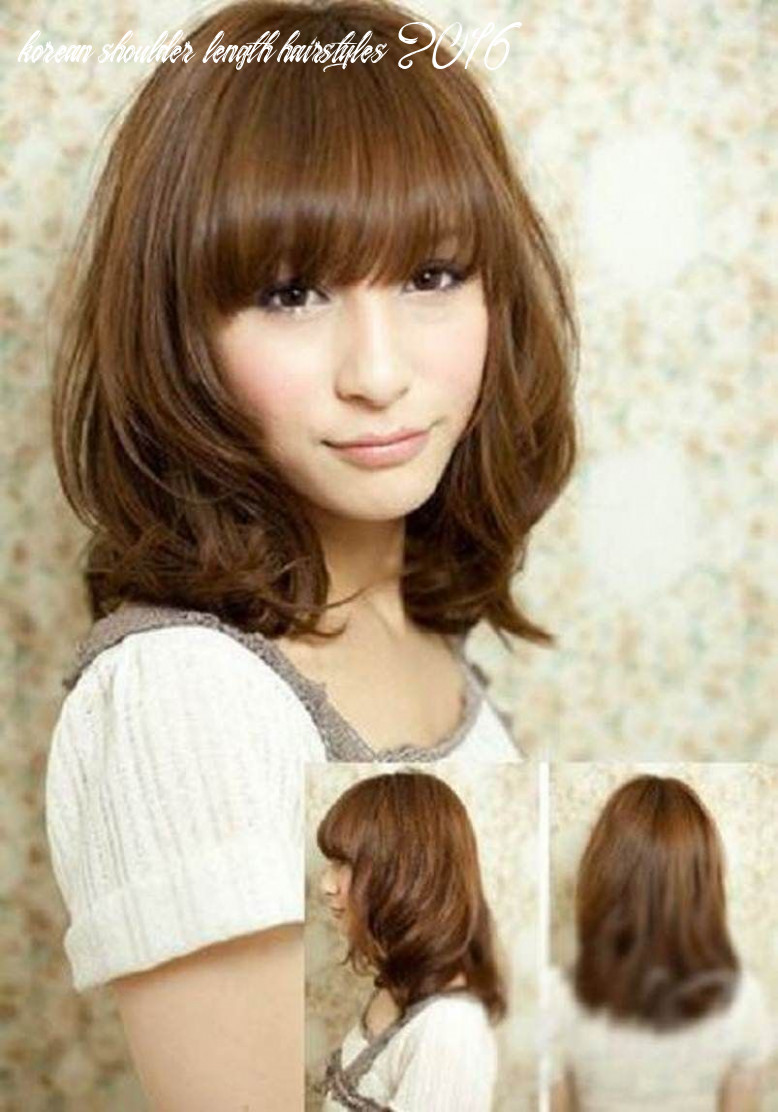Pin on hairstyle for male and female 8 korean shoulder length hairstyles 2016