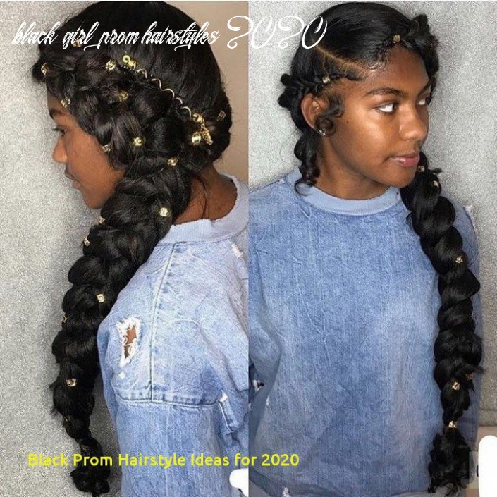 Pin on hairstyle ideas 9 black girl prom hairstyles 2020