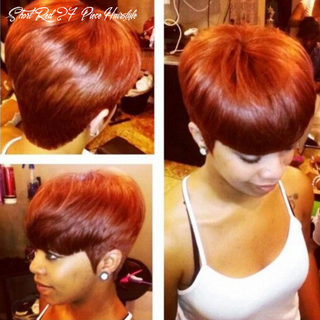 Pin on hairstyle ideas short red 27 piece hairstyle