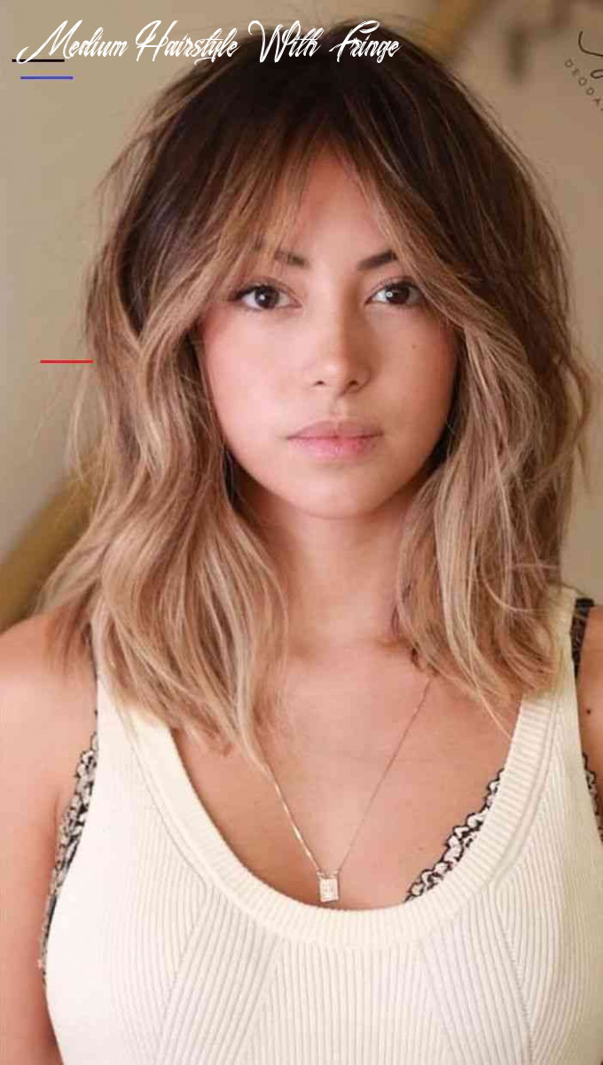 Pin on hairstyle medium hairstyle with fringe