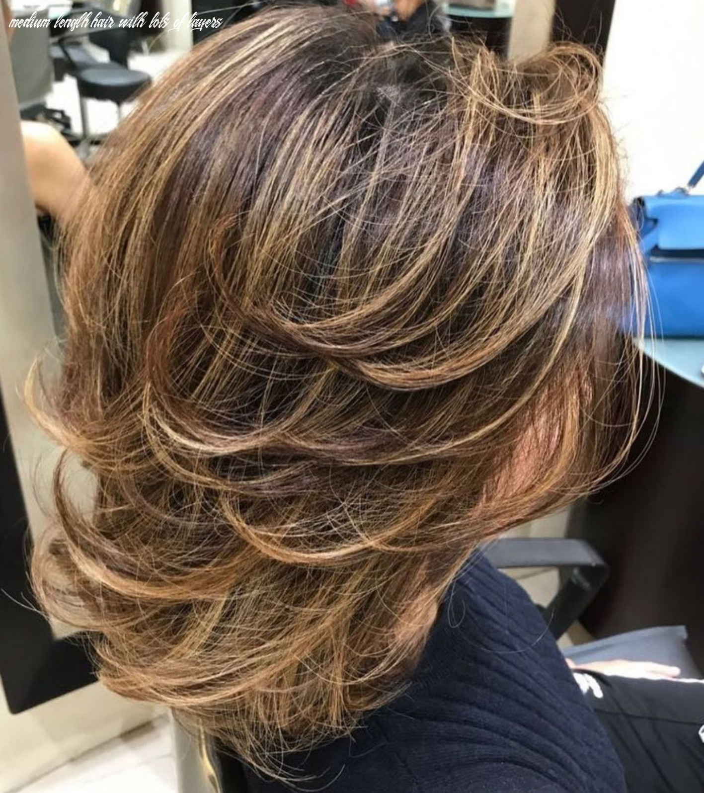 Pin on hairstyle medium length hair with lots of layers