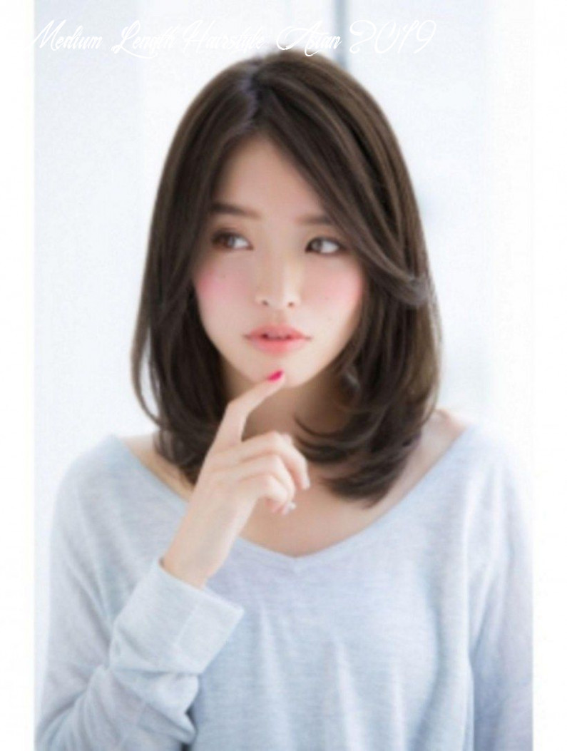Pin on hairstyle medium length hairstyle asian 2019