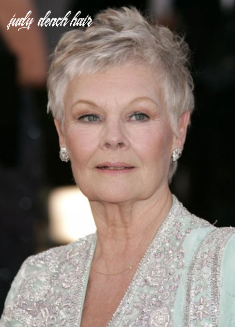 Pin on hairstyle possibilities judy dench hair