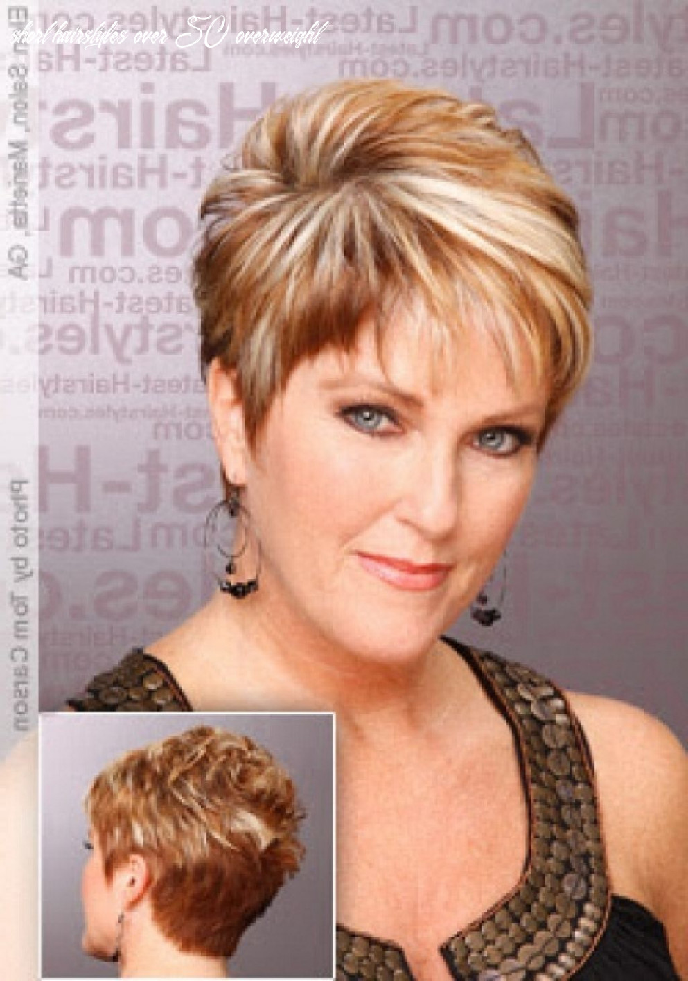 Pin on hairstyles easy ideas short hairstyles over 50 overweight