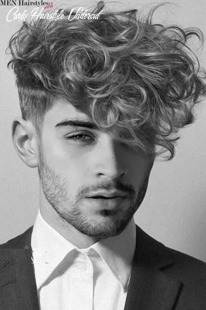 Pin on hairstyles for men with curly hair curly hairstyle undercut