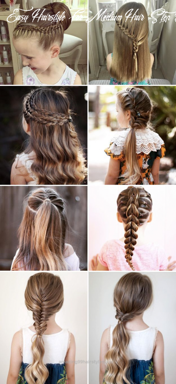 Pin on hairstyles for school easy hairstyle for medium hair step by step