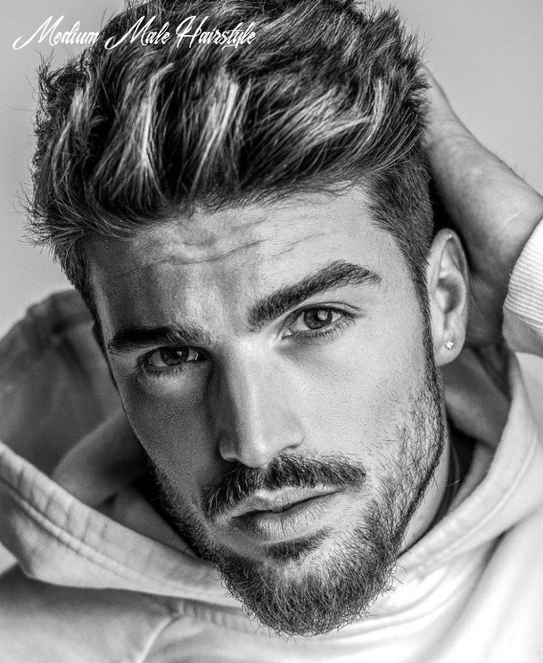 Pin on hairstyles haircuts medium male hairstyle