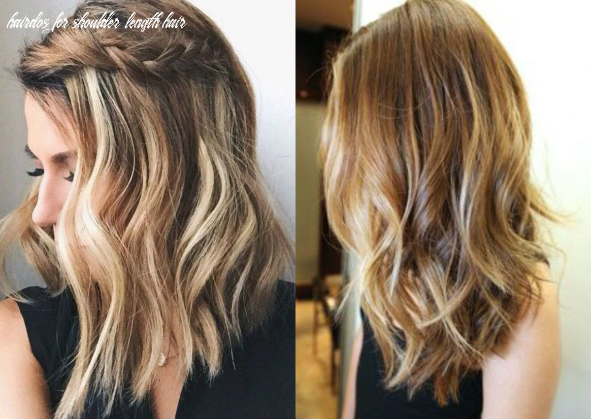 Pin on hairstyles hairdos for shoulder length hair