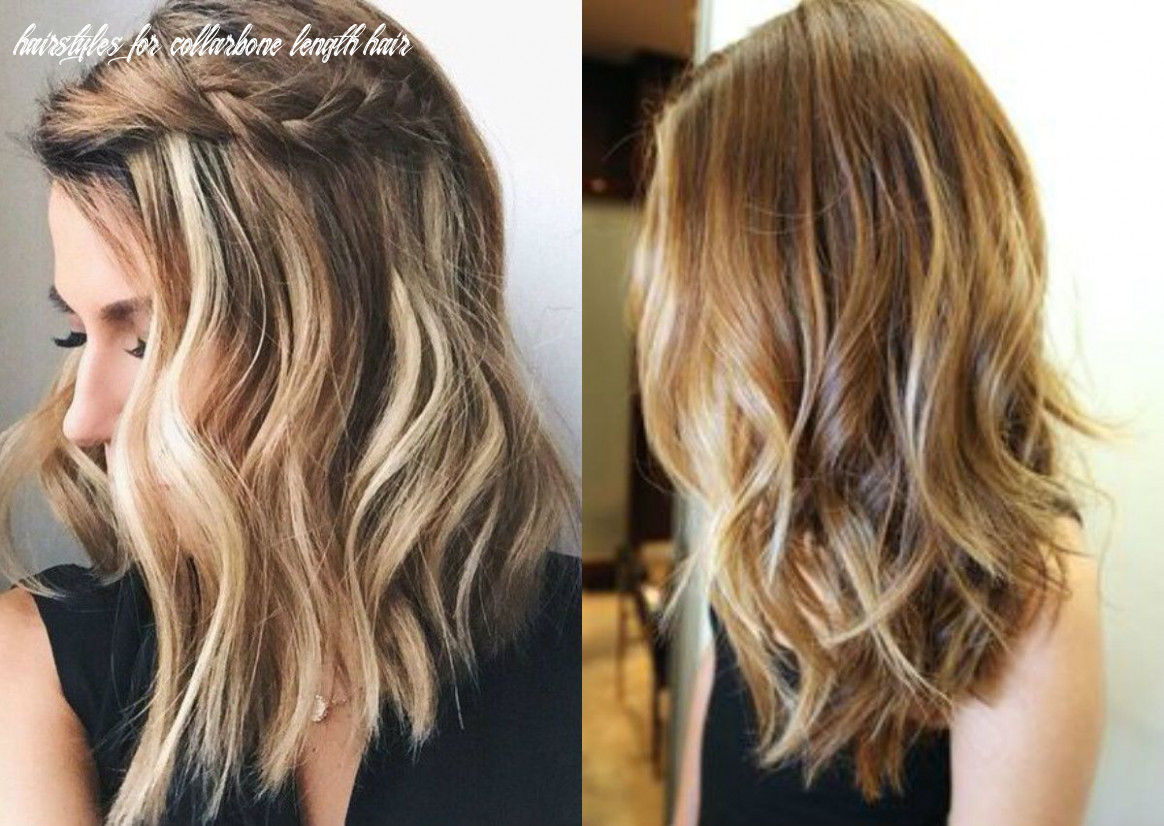 Pin on hairstyles hairstyles for collarbone length hair