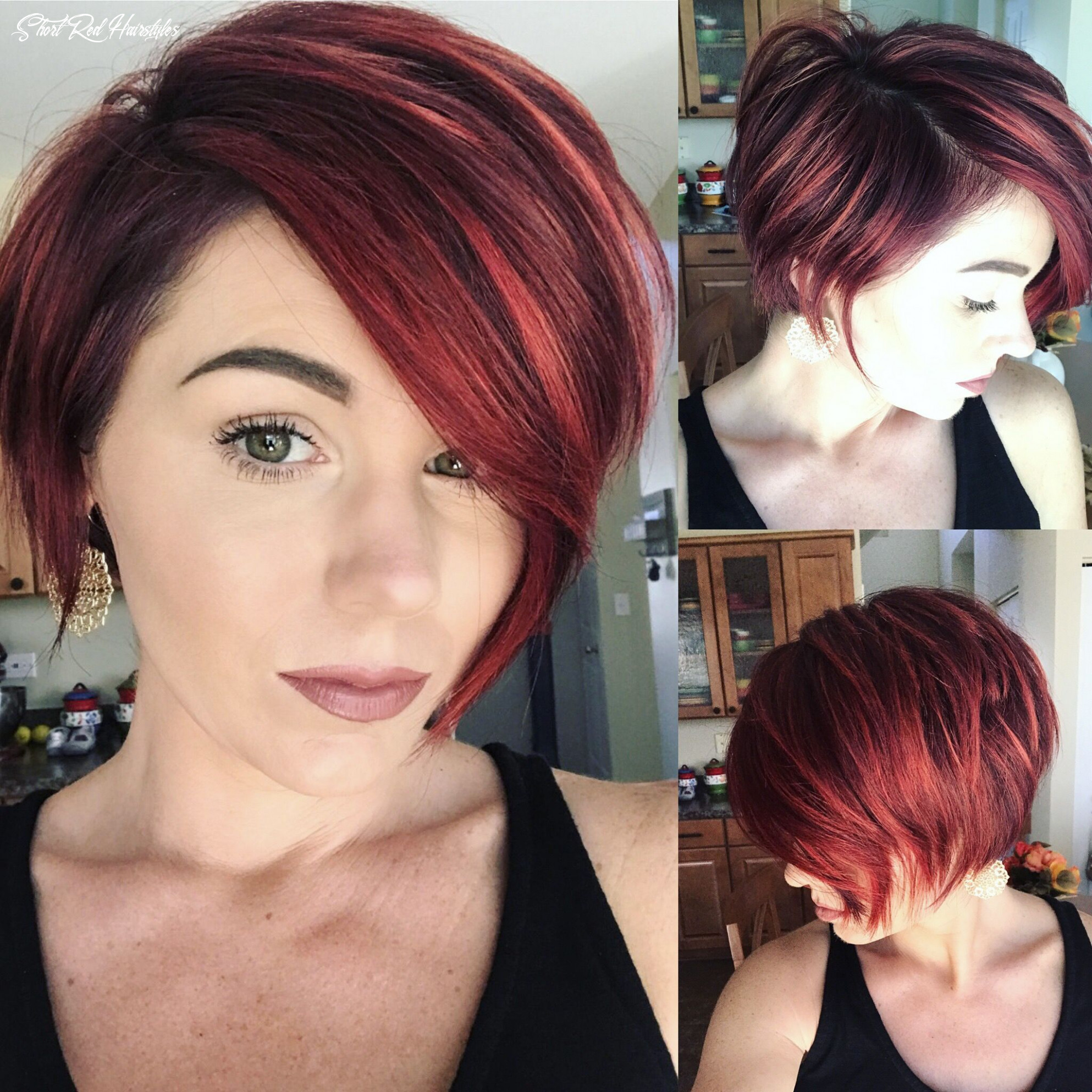 Pin on hairstyles/inspiration short red hairstyles