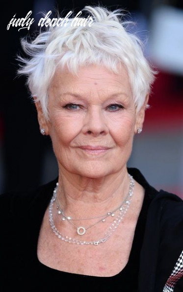 Pin on hairstyles judy dench hair