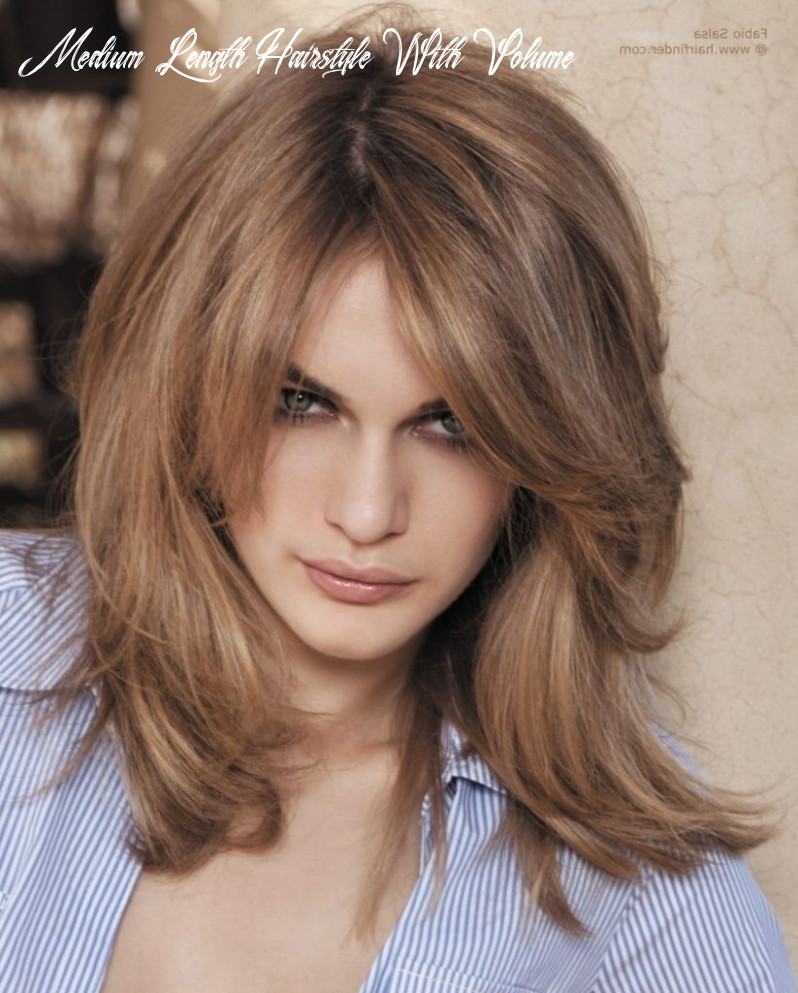 Pin on hairstyles medium length hairstyle with volume