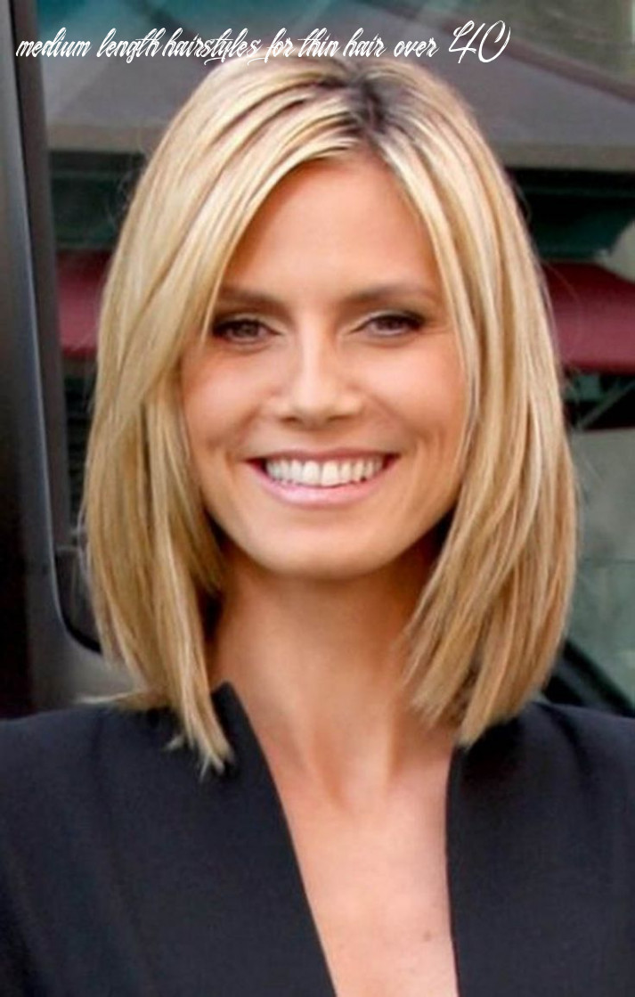 Pin on hairstyles medium length hairstyles for thin hair over 40