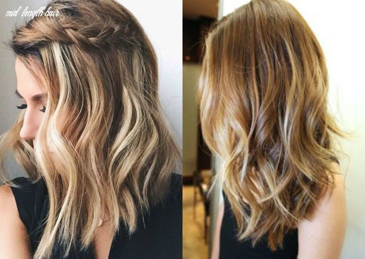Pin on hairstyles mid length hair