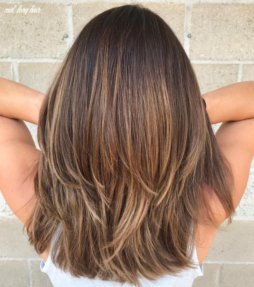 Pin on hairstyles mid long hair