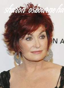 Pin on hairstyles sharon osbourne haircut