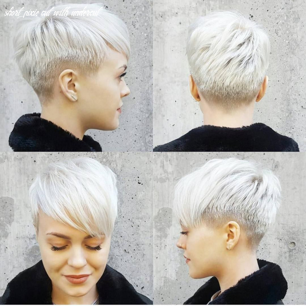 Pin on hairstyles short pixie cut with undercut