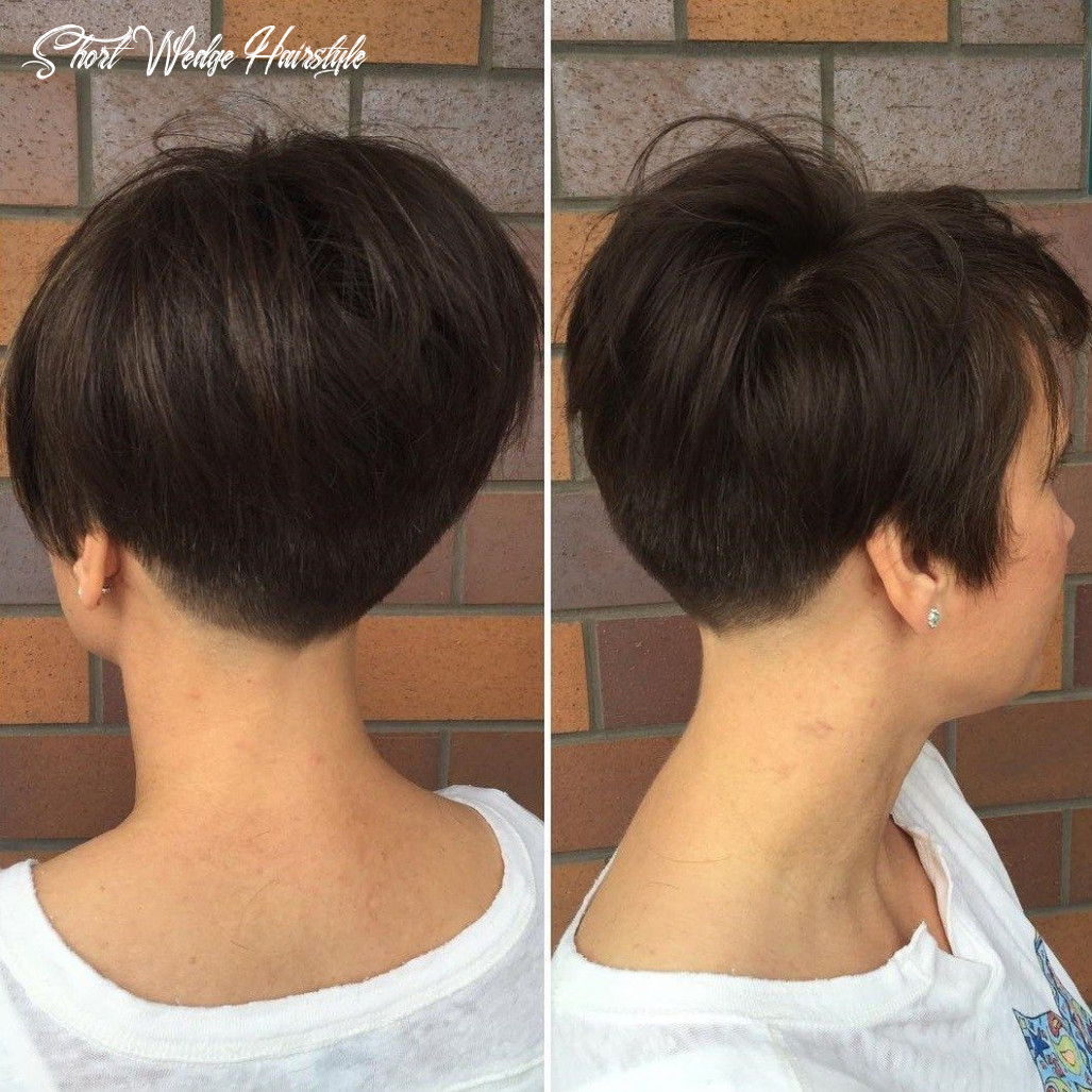 Pin on hairstyles short wedge hairstyle