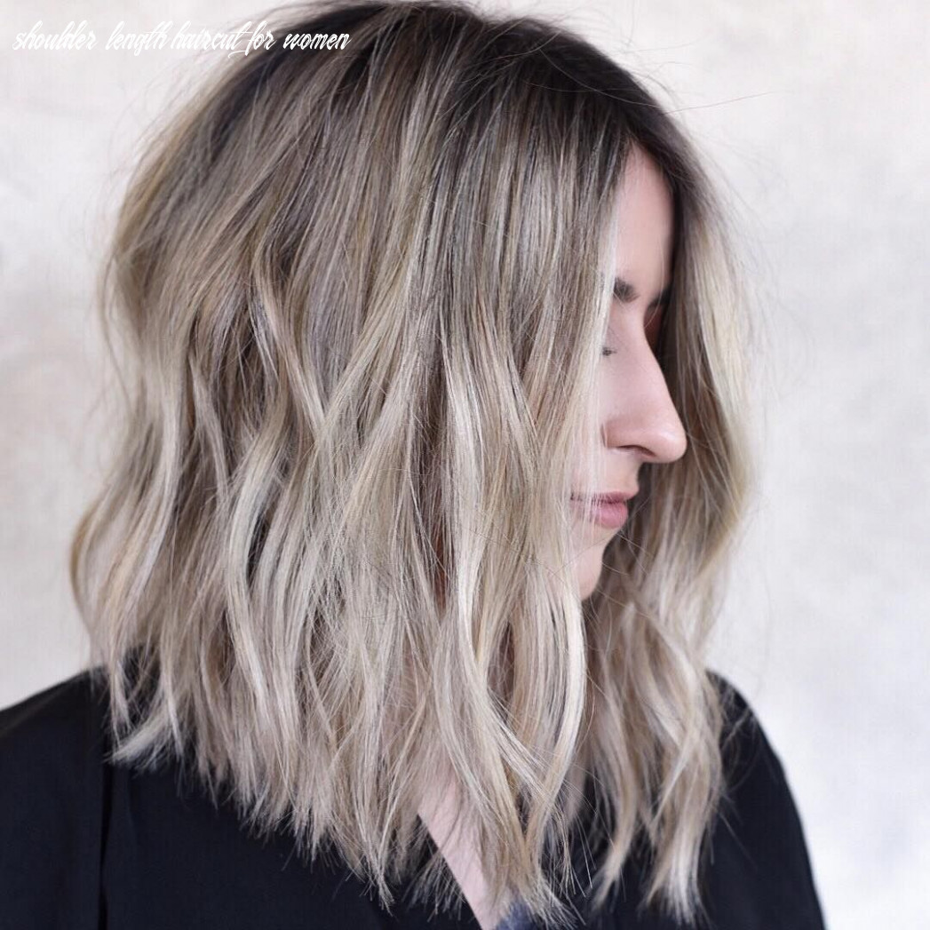 Pin on hairstyles shoulder length haircut for women