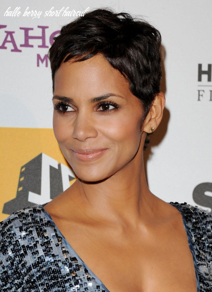 Pin on halle berry halle berry short haircut