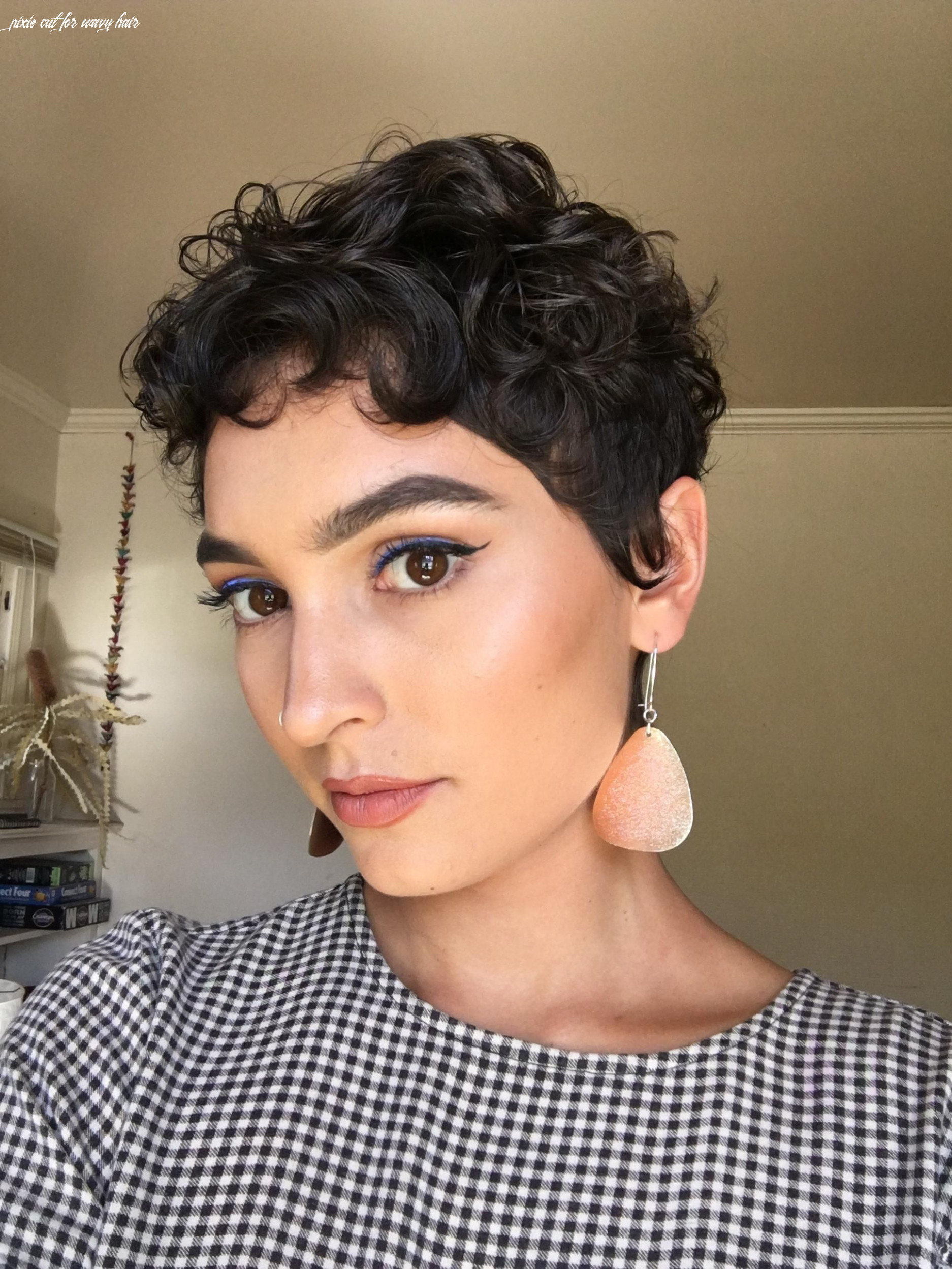 Pin on hurr pixie cut for wavy hair