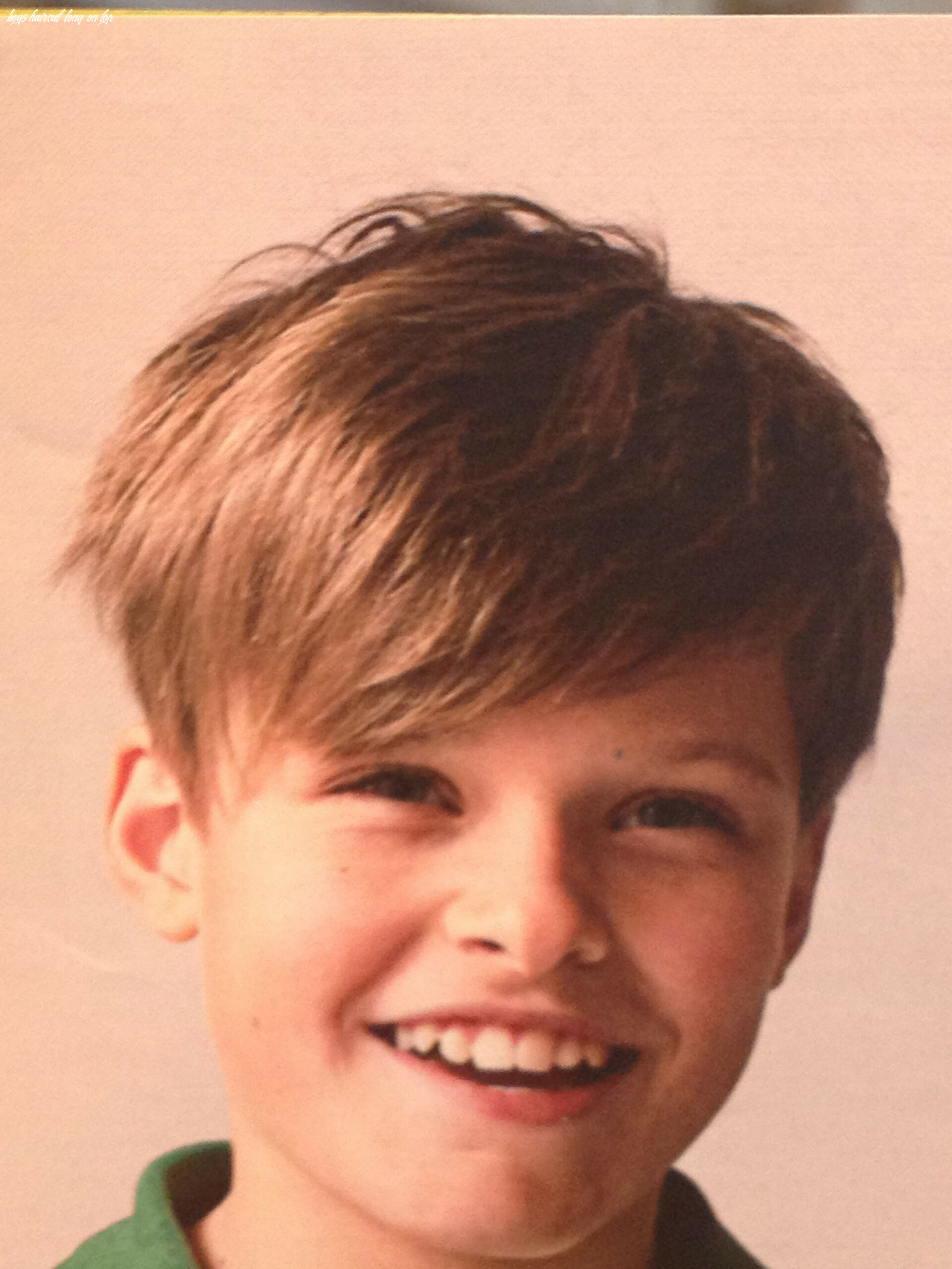 Pin on ideas for kids boys haircut long on top